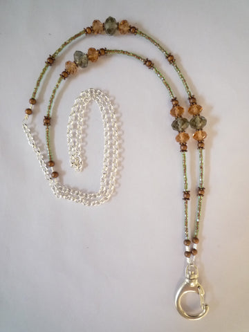 Beaded Jewelry Lanyard