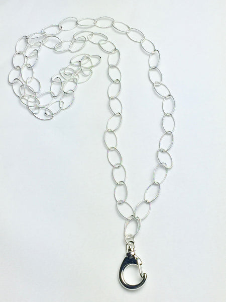 Large Link Oval Chain Lanyard