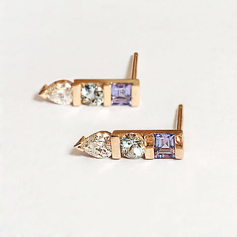 Mei-Li Rose bespoke jewellery earrings