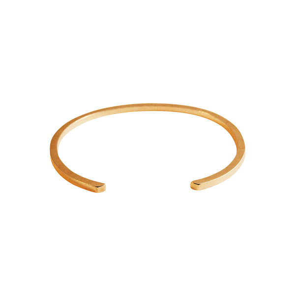 Simple gold bangle