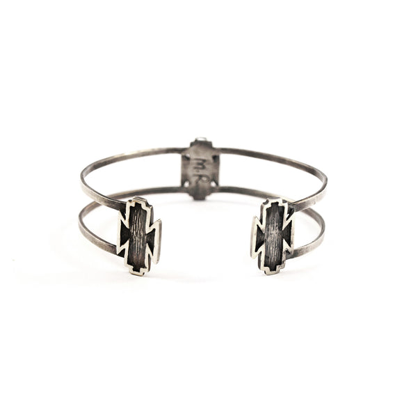 Mei-Li Rose Three Piece Navajo Bangle