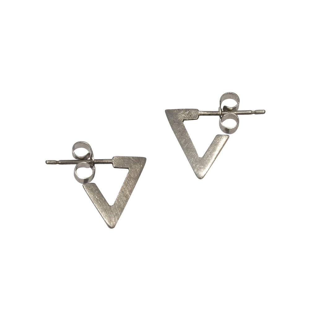 Mei-li Rose Large Triangle Earrings dF5tHYh