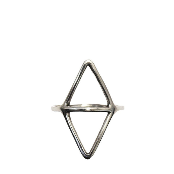 Simple geometric ring