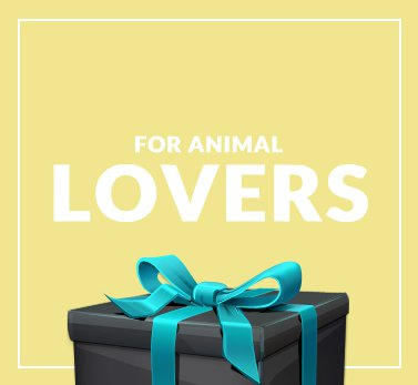 Gifts for Animal Lovers at Zasttra.com