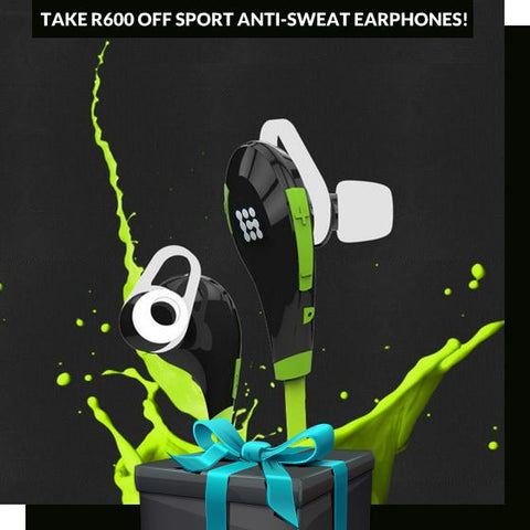 Wireless Anti-sweat earphones on Zasttra.com