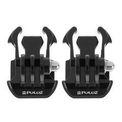 PULUZ Horizontal Surface Quick Release Buckle for GoPro HERO4 Session /4 /3+ /3 /2 /1, Pack of 2