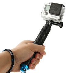 PULUZ Handheld Extendable Pole Monopod for GoPro HERO4 Session /4 /3+ /3 /2 /1, Length: 19-49cm