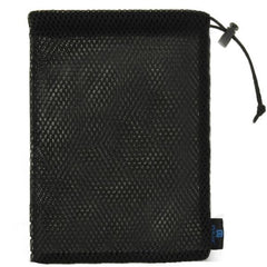 PULUZ Nylon Mesh Storage Bag with Stay Cord for GoPro HERO4 Session /4 /3+ /3 /2 /1, Size: 19.5cm x 14.5cm(Black)