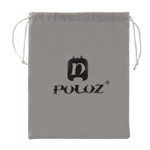 PULUZ Soft Flannel Pouch Bag with Stay Cord for GoPro HERO4 Session /4 /3+ /3 /2 /1, Size: 24.5cm x 20.5cm