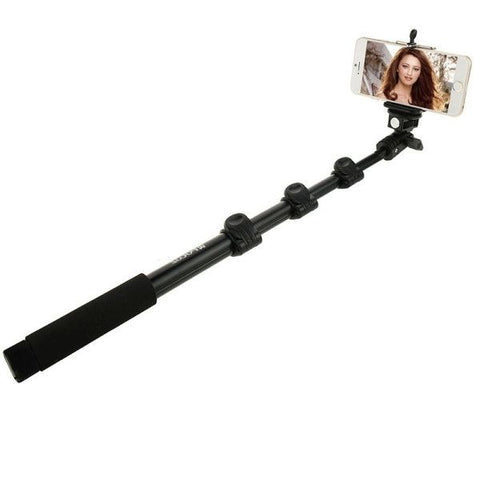 PULUZ Extendable Adjustable Handheld Selfie Stick Monopod for GoPro HERO4 Session /4 /3+ /3 /2 /1 and Smartphones, Length: 40-120cm(Black)