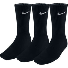 3PPK COTN NON CUSH SOCKS black - Medium