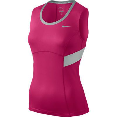 Nike Power Tank Ladies Top Pink - X-Small