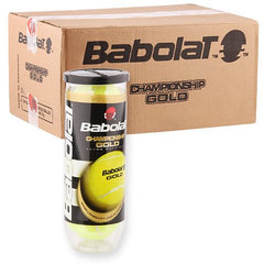 Babolat Gold Tennis Balls - Case