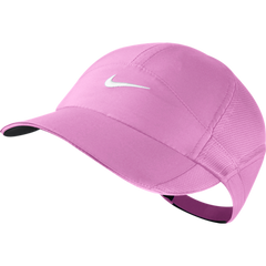 Nike FEATHER LIGHT CAP RED VIOLET/BLACK