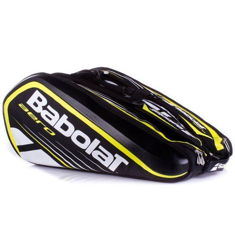 Babolat Aero (Black/Yellow) 12 Racket Bag