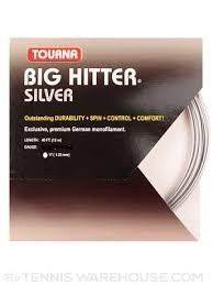 Tourna Big Hitter Silver 17 Gauge strings