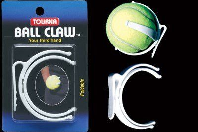 Tourna BALL CLAW  - White