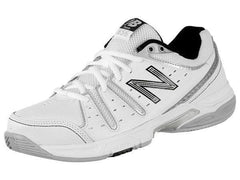 New Balance Ladies 656 ladies tennis shoes white and blue - UK 4