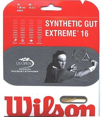 Wilson Synthetic Gut tennis string set