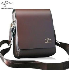 Messenger Bag,  Genuine Leather, Kangaroo Kingdom