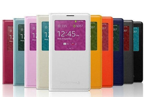Official S View Flip Cover Design for Samsung Galaxy Note 3 N9000