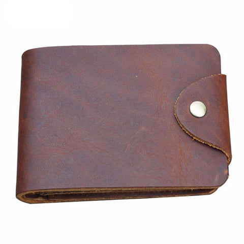 Genuine Horse Leather Vintage Wallet