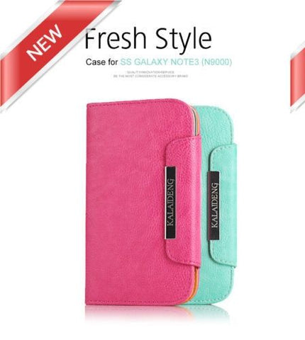 Samsung Galaxy NOTE 3 case cover Kalaideng Premium Leather Cover Case N9000