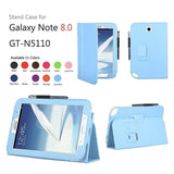 Leather Stand Cover Case For Samsung Galaxy Note 8.0 N5100 / N5110 - Zasttra.com - 9