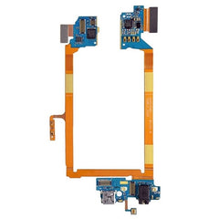 iPartsBuy USB Charging Connector Port Flex Cable & Earphone Audio Jack Flex Cable & Microphone Flex Cable for LG G2 / VS980