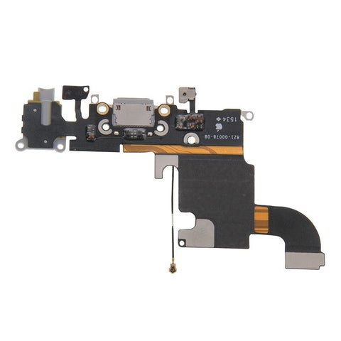 iPartsBuy for iPhone 6s Charging Port Flex Cable(Grey)