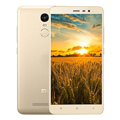 Xiaomi Redmi Note 3 16GB, Network: 4G, 5.5 inch MIUI V7 MediaTek Helio X10 MT6795 Octa Core up to 2.0GHz, RAM: 2GB(Gold)