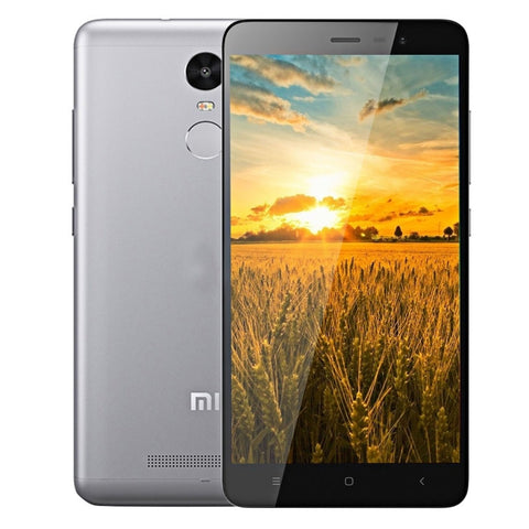 Xiaomi Redmi Note 3 16GB, Network: 4G, 5.5 inch MIUI V7 MediaTek Helio X10 MT6795 Octa Core up to 2.0GHz, RAM: 2GB(Grey)