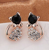 Online Buy Fashion beautiful Betsey Johnson Cat Stud Earrings | South Africa | Zasttra.com