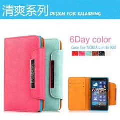 Original Kalaideng Fresh Series PU Leather Wallet Stand Case Cover For Nokia Lumia 920