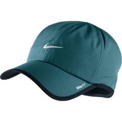 NIKE FEATHER LIGHT CAP GAMMA BLUE/WHITE