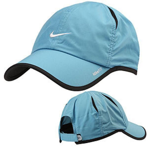 NIKE FEATHER LIGHT CAP GAMMA BLUE/BLACK/WHITE