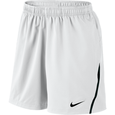"Nike Power 7"" Woven Short White/Black - Large"