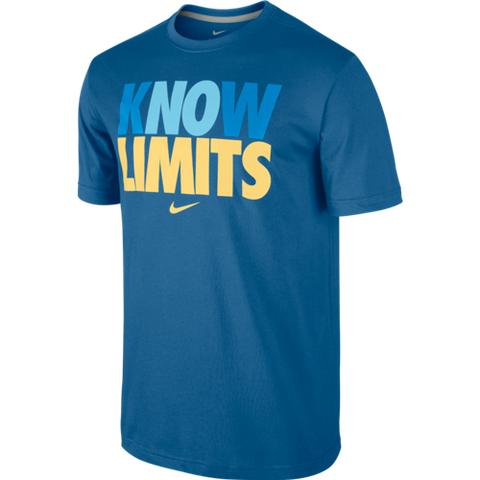 DFCT KNOW LIMITS TEE BLUE - X-Large