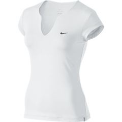 PURE SS TOP WHITE/SLIVER - Small