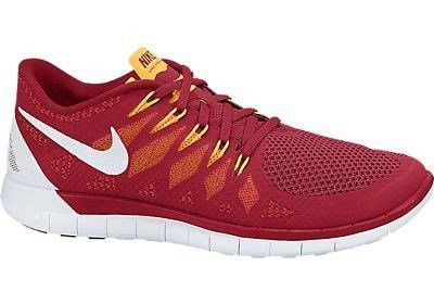 NIKE FREE 5.0 RED/WHITE - UK 9
