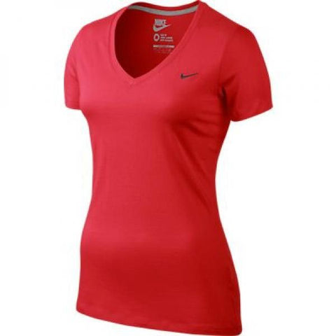 Nike Tee-Mid V Swoosh Action Red - X-Small