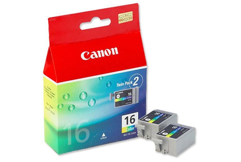 Original Canon BCI-16 Tri-Colour Ink Cartridge