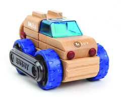SUV | Magnetic Wooden Cars | Edtoy