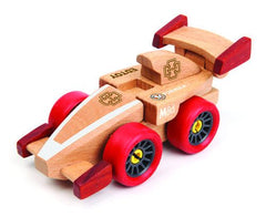 F1 Racing | Magnetic Wooden Cars | Edtoy