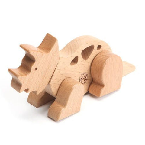 Triceratops | Dinosaur Magnetic Wooden Toy | Edtoy