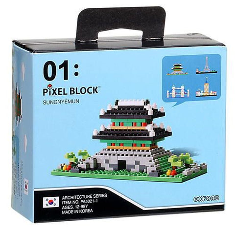 Seoul Gate | Mini Pixel Block | Oxford Toys