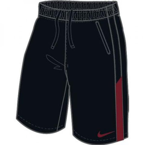Nike EM Woven Short BLK/RED - X-Large
