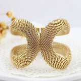 Online Buy Gold Color Spring Cuff Bracelet and Bangle | South Africa | Zasttra.com