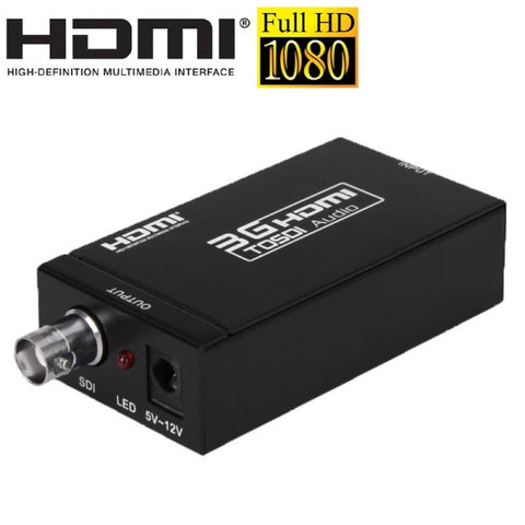 MINI 3G HDMI to SDI Converter (S009)(Black)