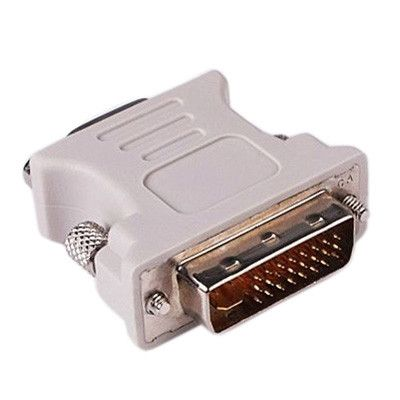 DVI 24+1 Pin Male to VGA 15Pin Female adapter